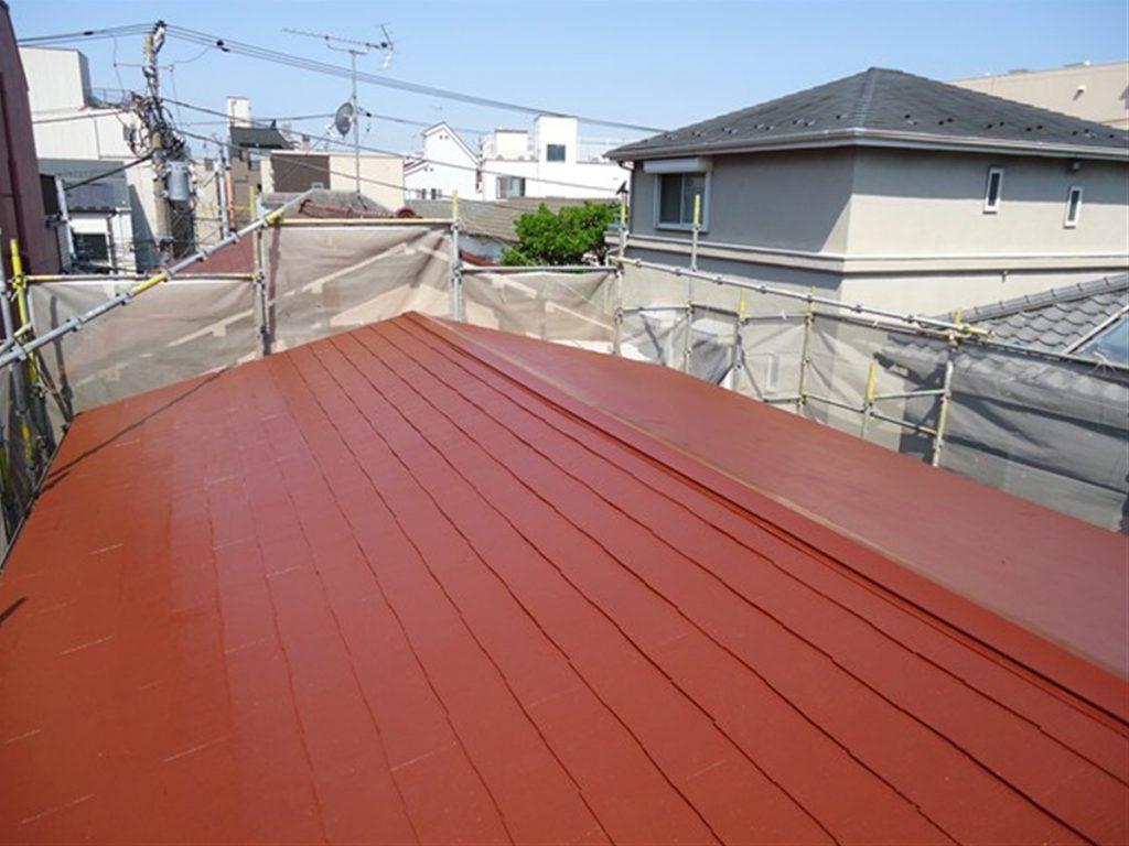 豊島区K荘 外壁,屋根塗装工事のサムネイル画像5