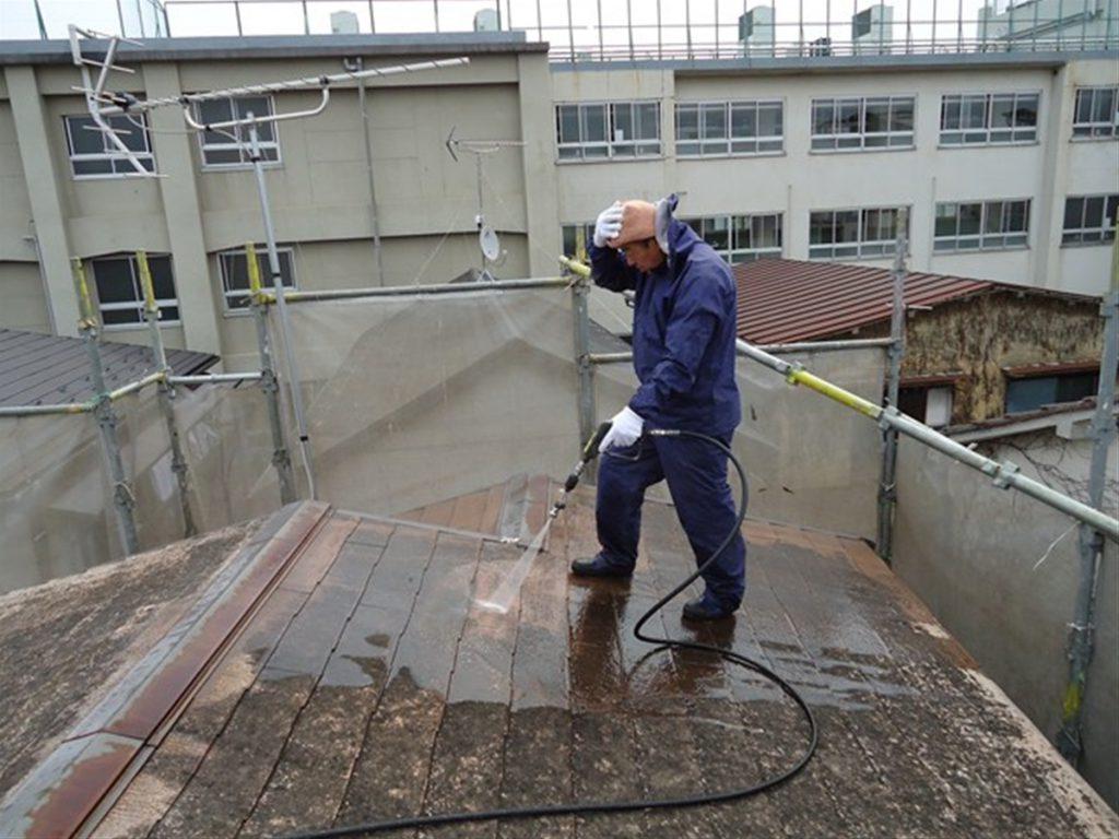 豊島区K荘 外壁,屋根塗装工事のサムネイル画像3