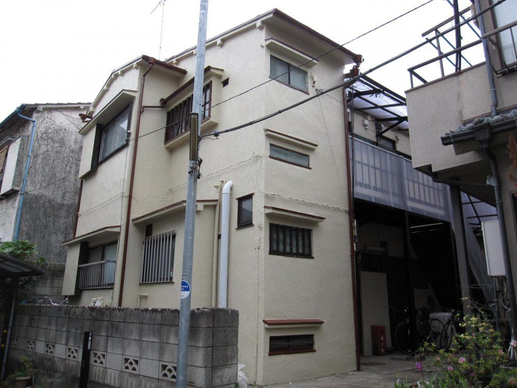 豊島区K荘 外壁,屋根塗装工事