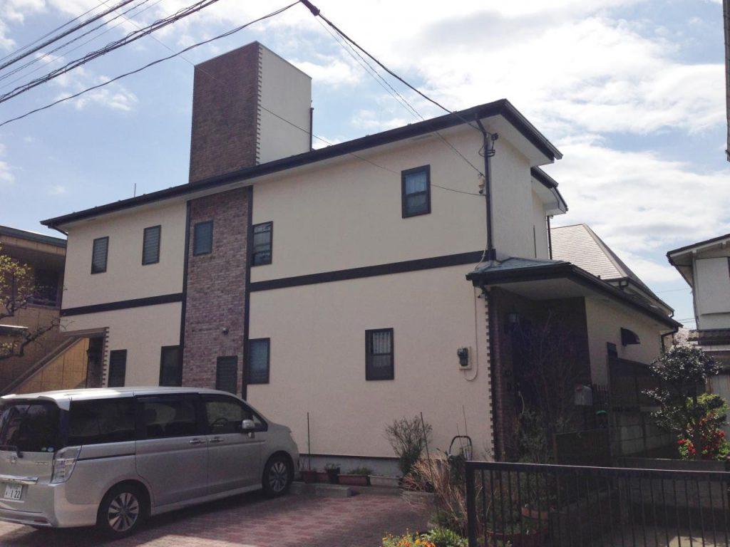 大田区 W様邸屋根外壁塗装工事