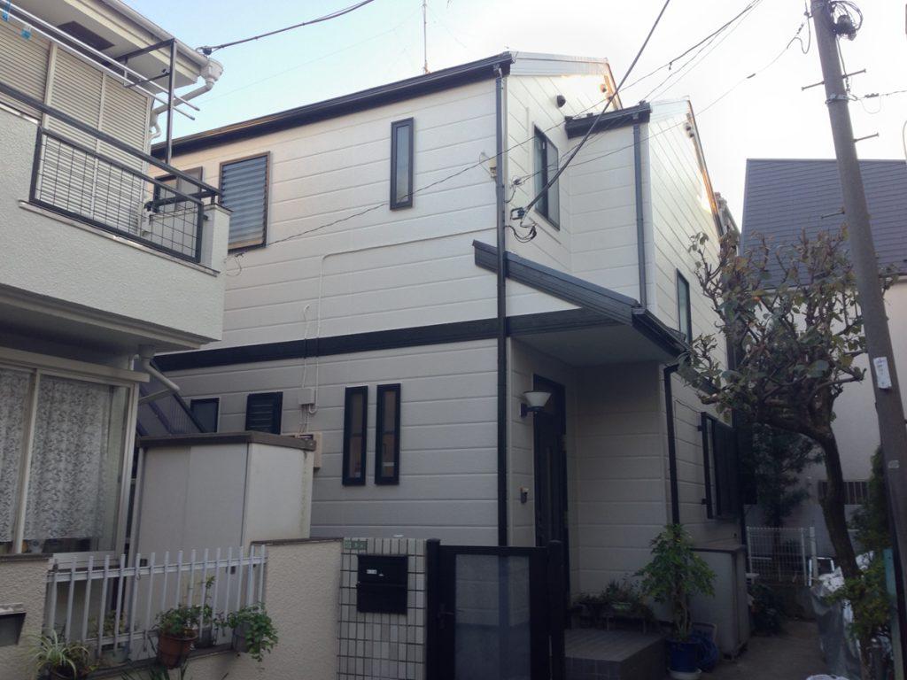 世田谷区K様邸 外壁,屋根塗装工事のサムネイル画像1