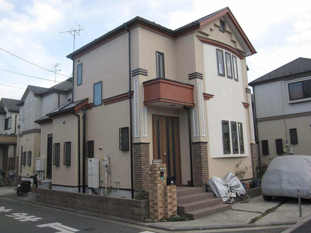 狛江市K様邸 外壁,屋根塗装工事のサムネイル画像1