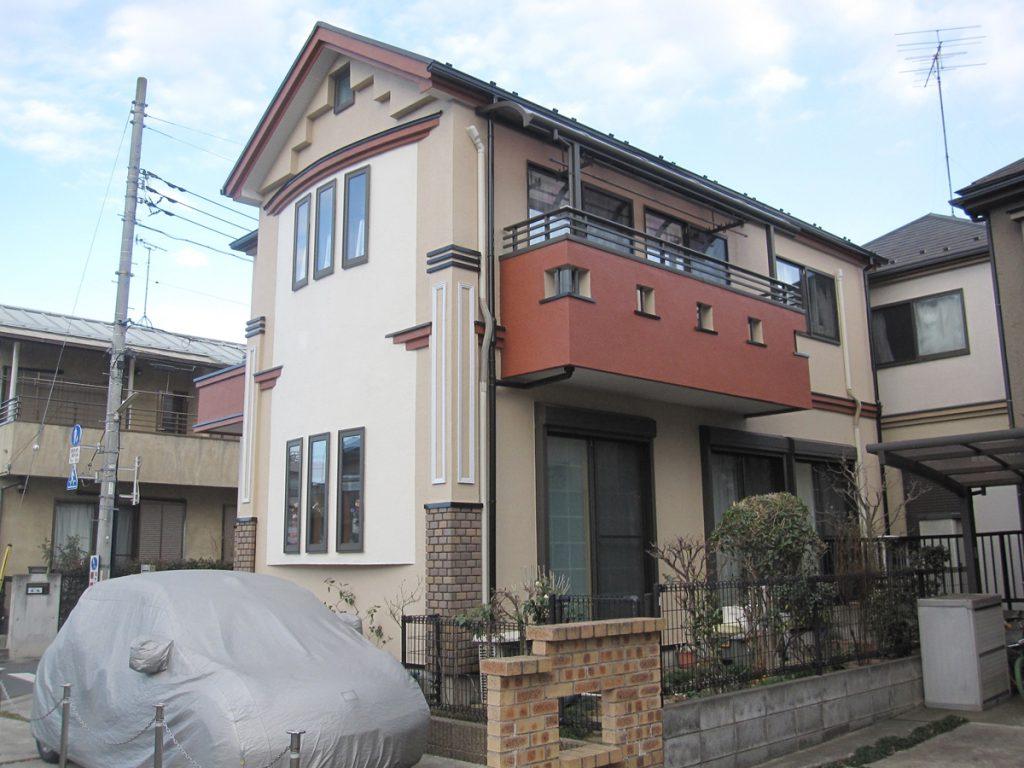 狛江市K様邸 外壁,屋根塗装工事