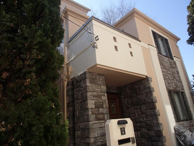 大田区I様邸 外壁屋根塗装工事のサムネイル画像1