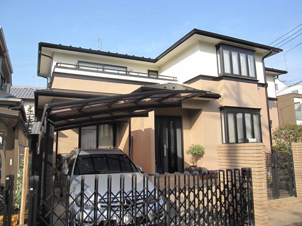 狛江市H様邸 外壁,屋根塗装工事のサムネイル画像1