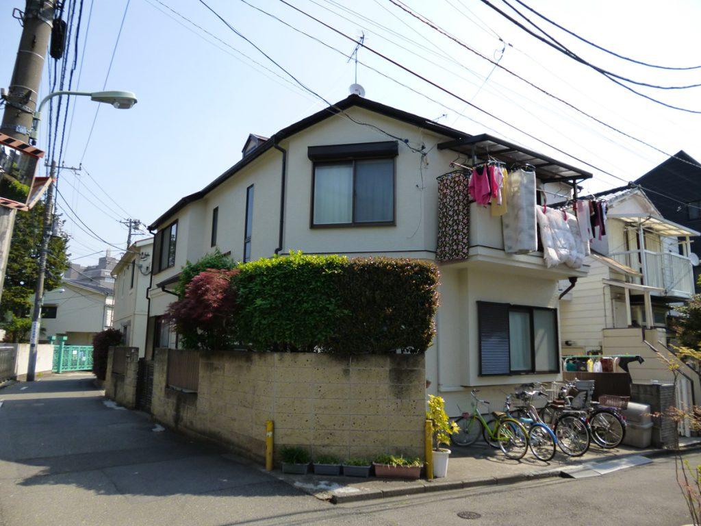 品川区I様邸 屋根,外壁塗装工事