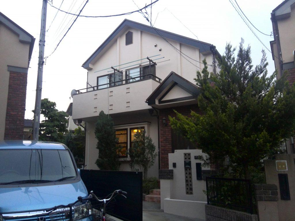 調布市A様邸 屋根,外壁塗装工事