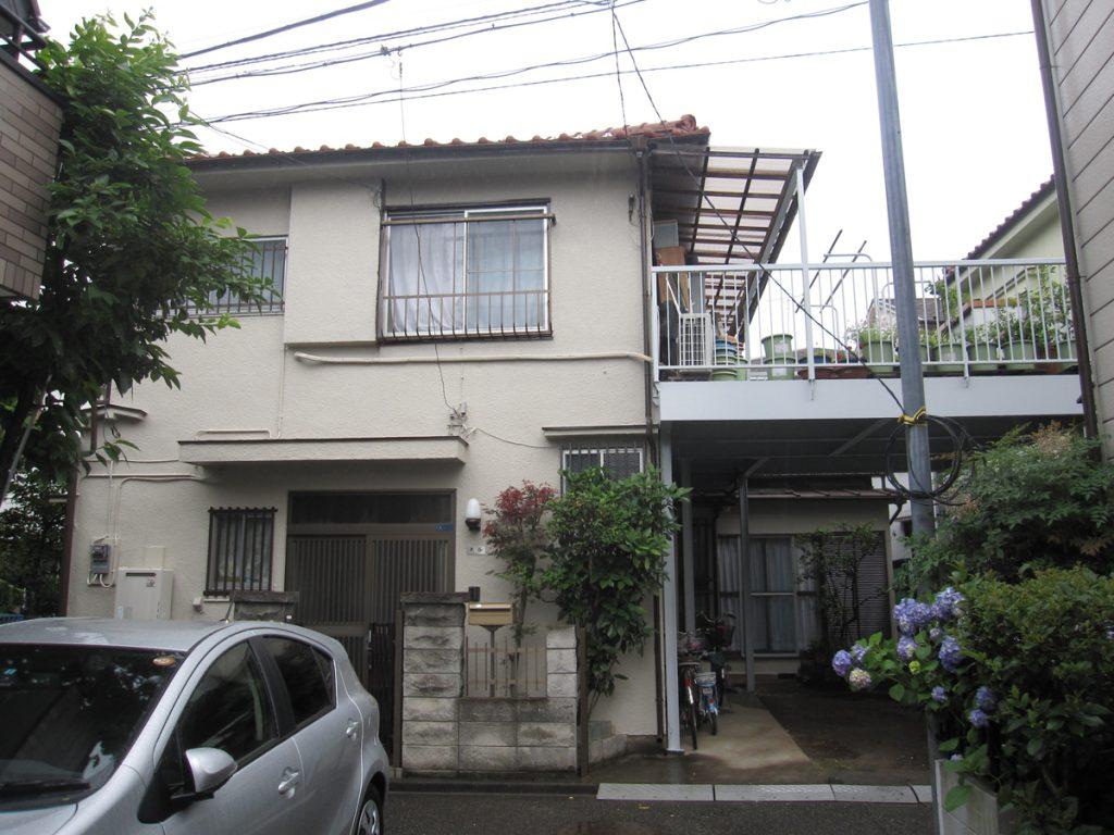 大田区O様邸 外壁,下屋根塗装工事のサムネイル画像1