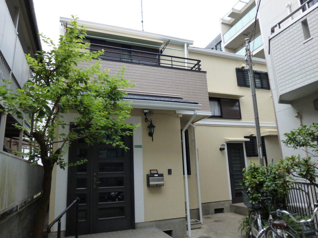 目黒区N様邸 屋根,外壁塗装工事のサムネイル画像1