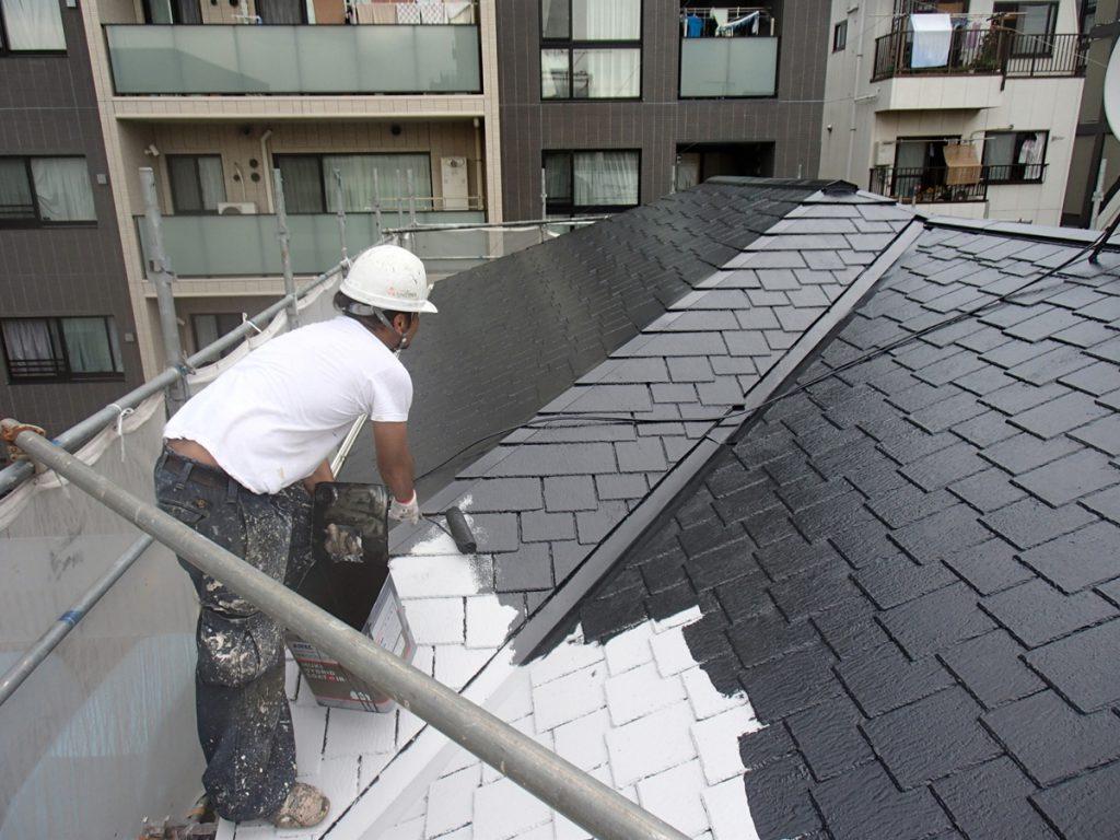 目黒区N様邸 屋根,外壁塗装工事のサムネイル画像2