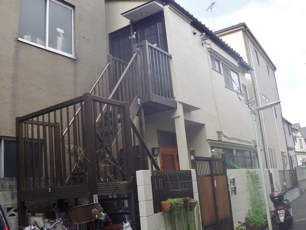 品川区K様邸 外壁塗装工事のサムネイル画像1