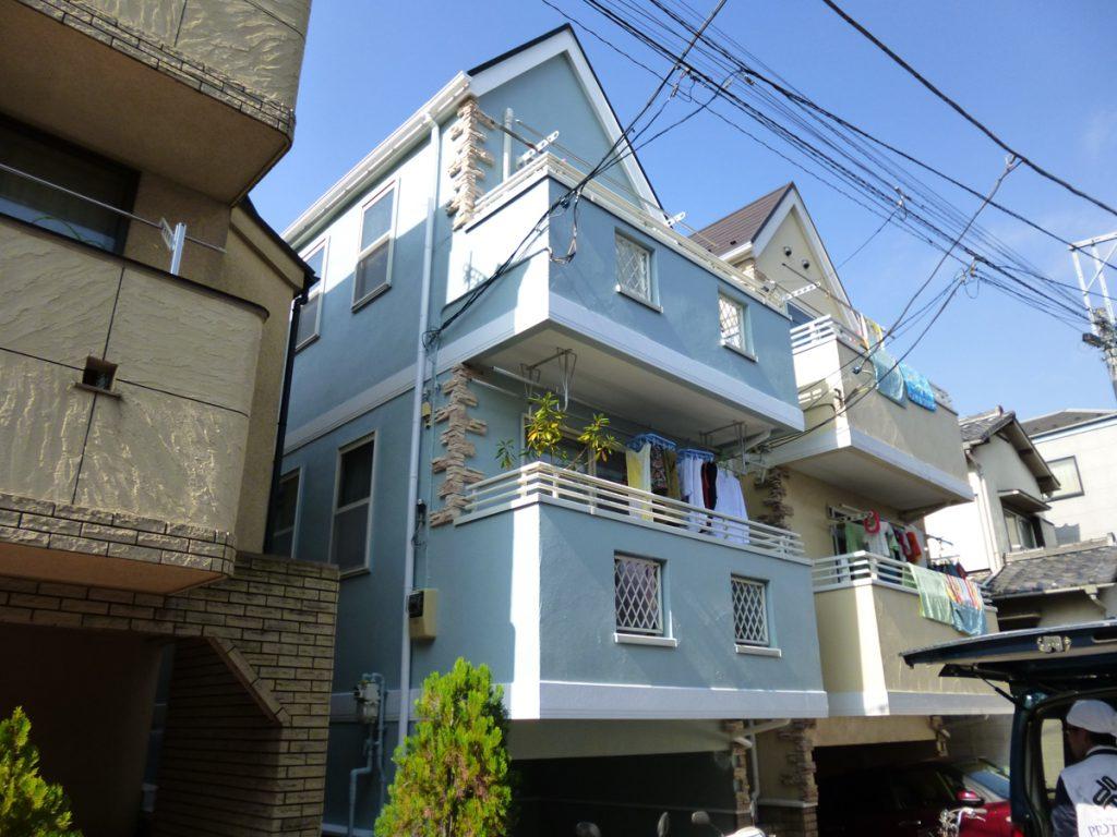 世田谷区N様邸 屋根,外壁塗装工事のサムネイル画像1