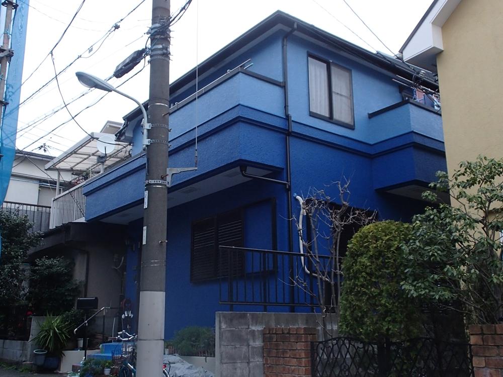 品川区T様邸 屋根外壁塗装工事