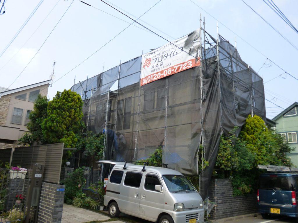大田区N様邸 外壁・屋根塗装工事のサムネイル画像2