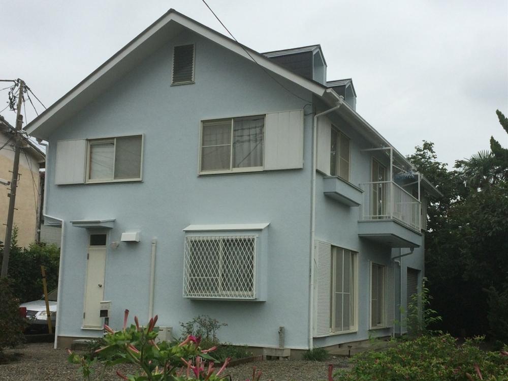 調布市K様邸 外壁屋根塗装工事