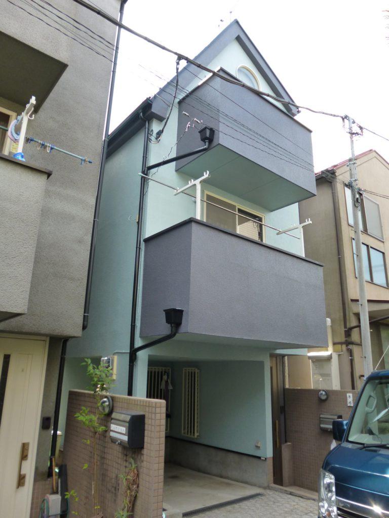 大田区T様邸 屋根外壁塗装リフォームのサムネイル画像1