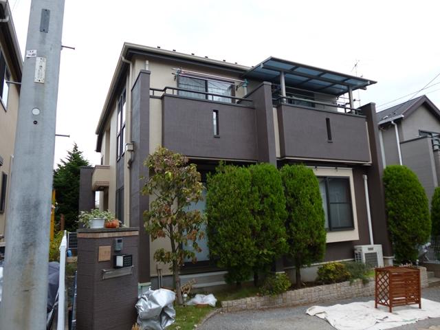 川崎市Y様邸 外壁・屋根塗装工事