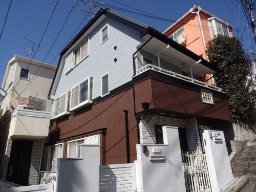 お客様の声:大田区H様邸 屋根外壁塗装工事のサムネイル