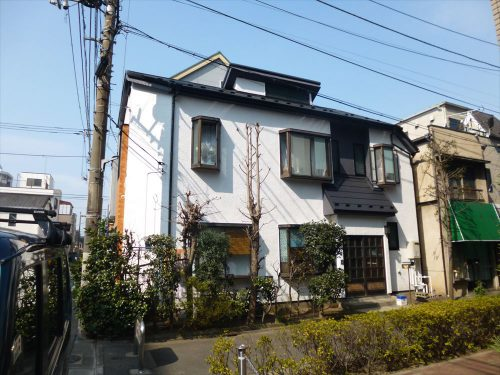 お客様の声:大田区S様邸 屋根外壁リフォーム工事のサムネイル