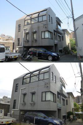 大田区山王M様邸 外装リフォーム工事完工しました。のサムネイル