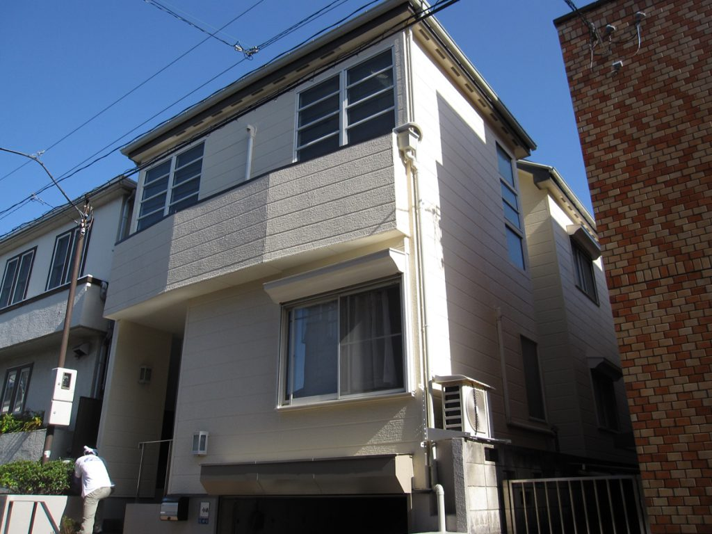 大田区I様邸 外壁,屋根塗装工事のサムネイル画像1