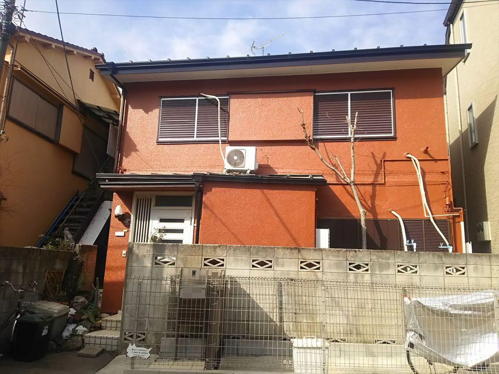 目黒区H様邸 屋根改修・外壁塗装工事