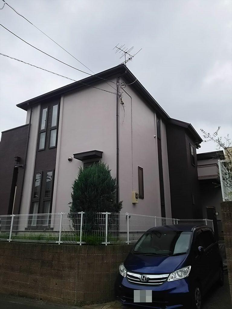 川崎市Y様邸 屋根外壁塗装工事