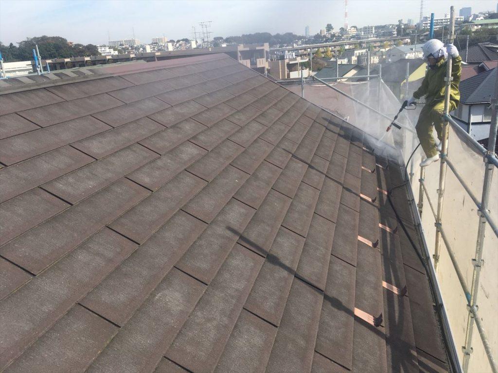 川崎市H様邸 屋根外壁塗装工事のサムネイル画像1