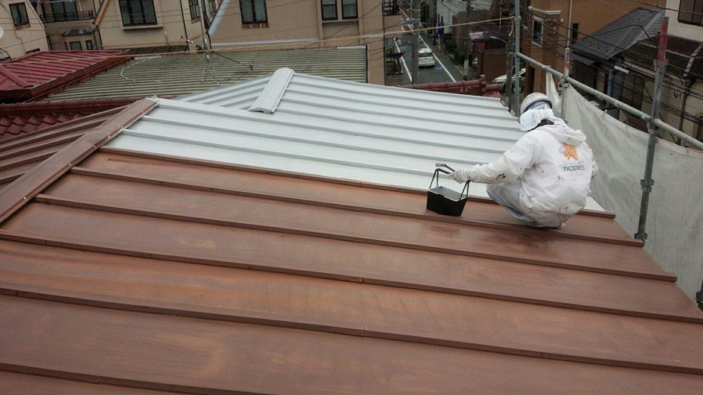 大田区K様邸 屋根塗装工事のサムネイル画像2