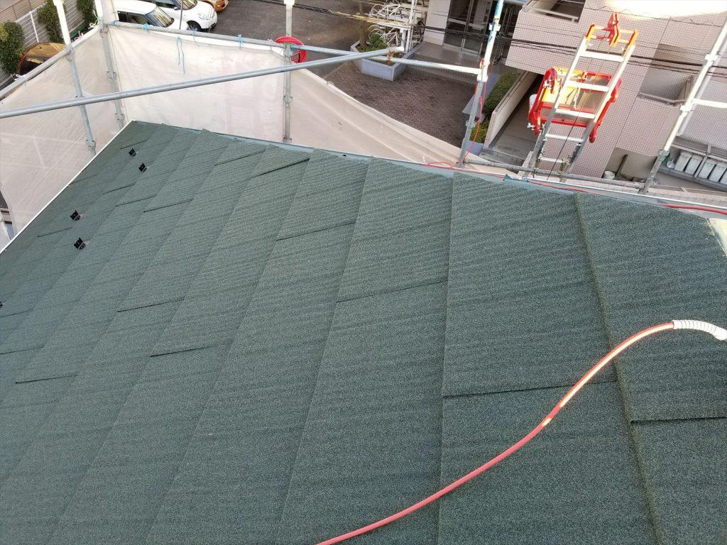 大田区S様邸 屋根修繕工事(重葺き)のサムネイル画像5