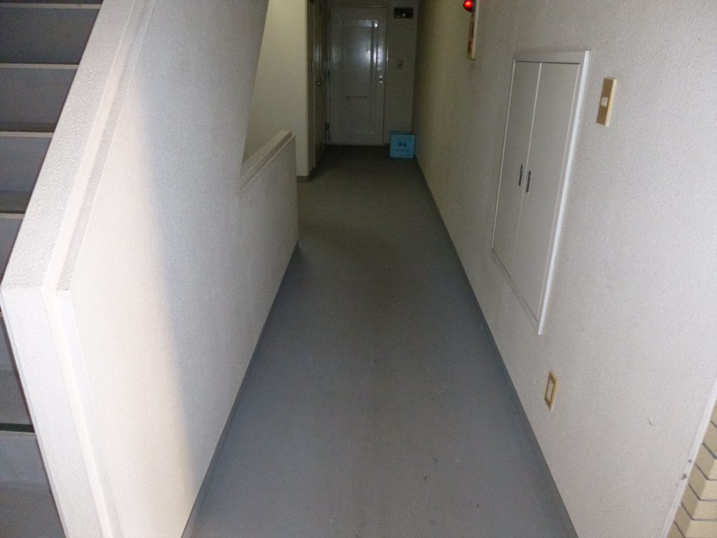 品川区 H物件 共用廊下改装のサムネイル画像1