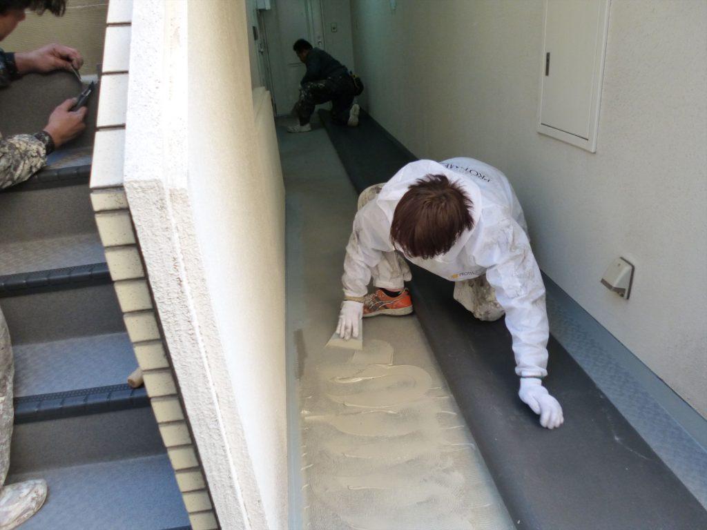 品川区 H物件 共用廊下改装のサムネイル画像2