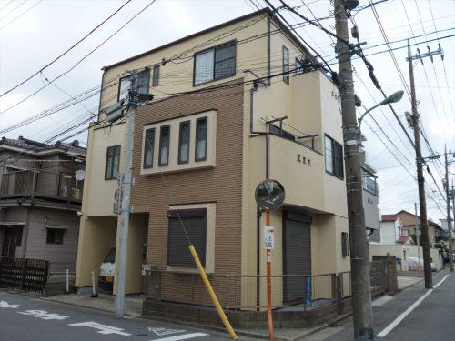 大田区S様邸 外壁塗装工事のサムネイル