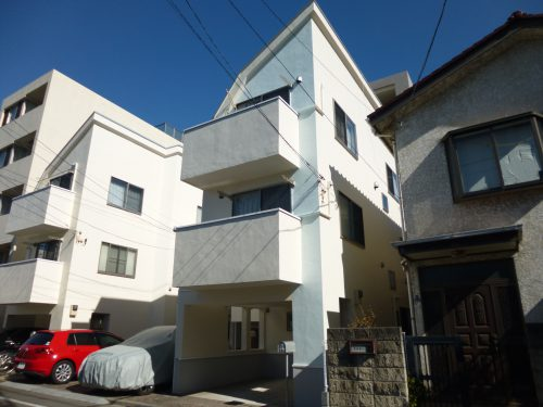 大田区K様邸 外壁塗装工事のサムネイル