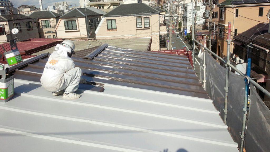 大田区K様邸 屋根塗装工事のサムネイル画像3