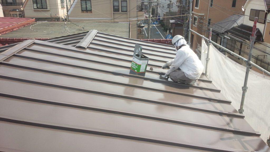 大田区K様邸 屋根塗装工事のサムネイル画像4