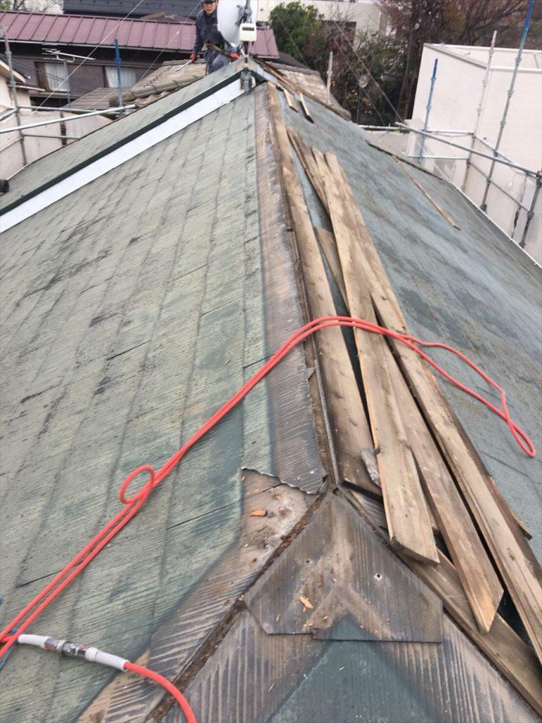 大田区S様邸 屋根修繕工事(重葺き)のサムネイル画像1
