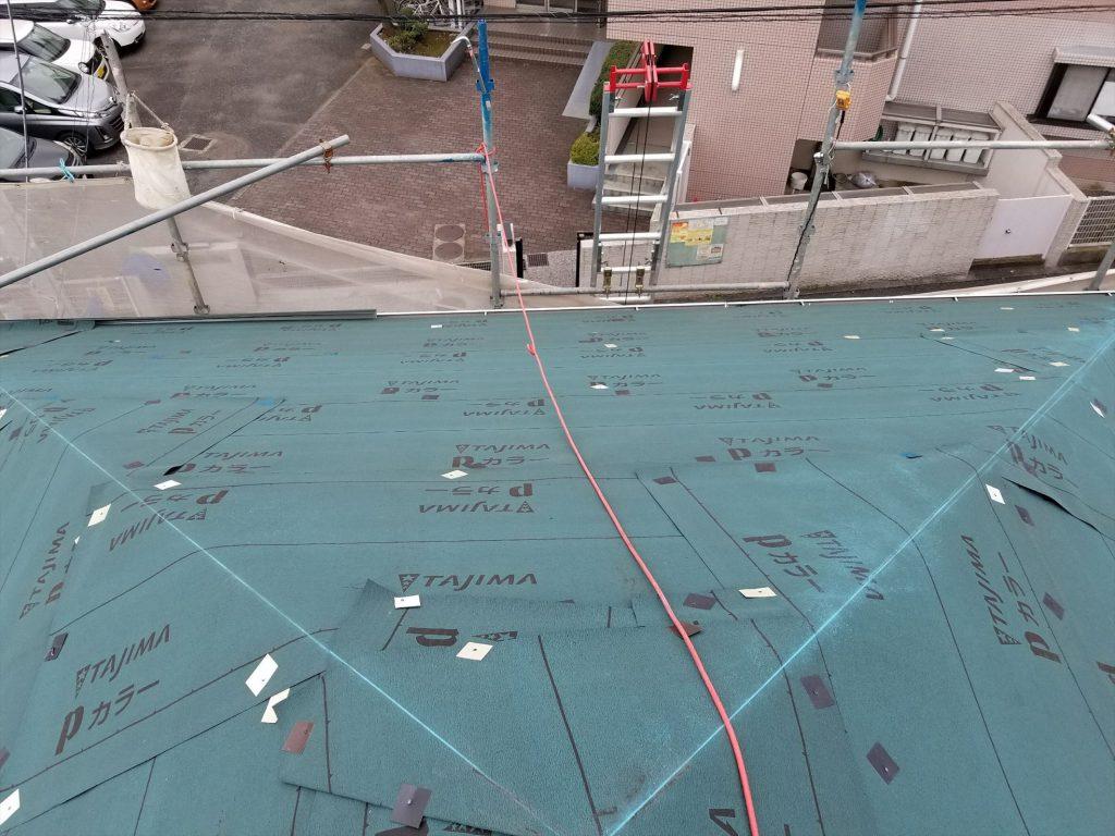 大田区S様邸 屋根修繕工事(重葺き)のサムネイル画像3