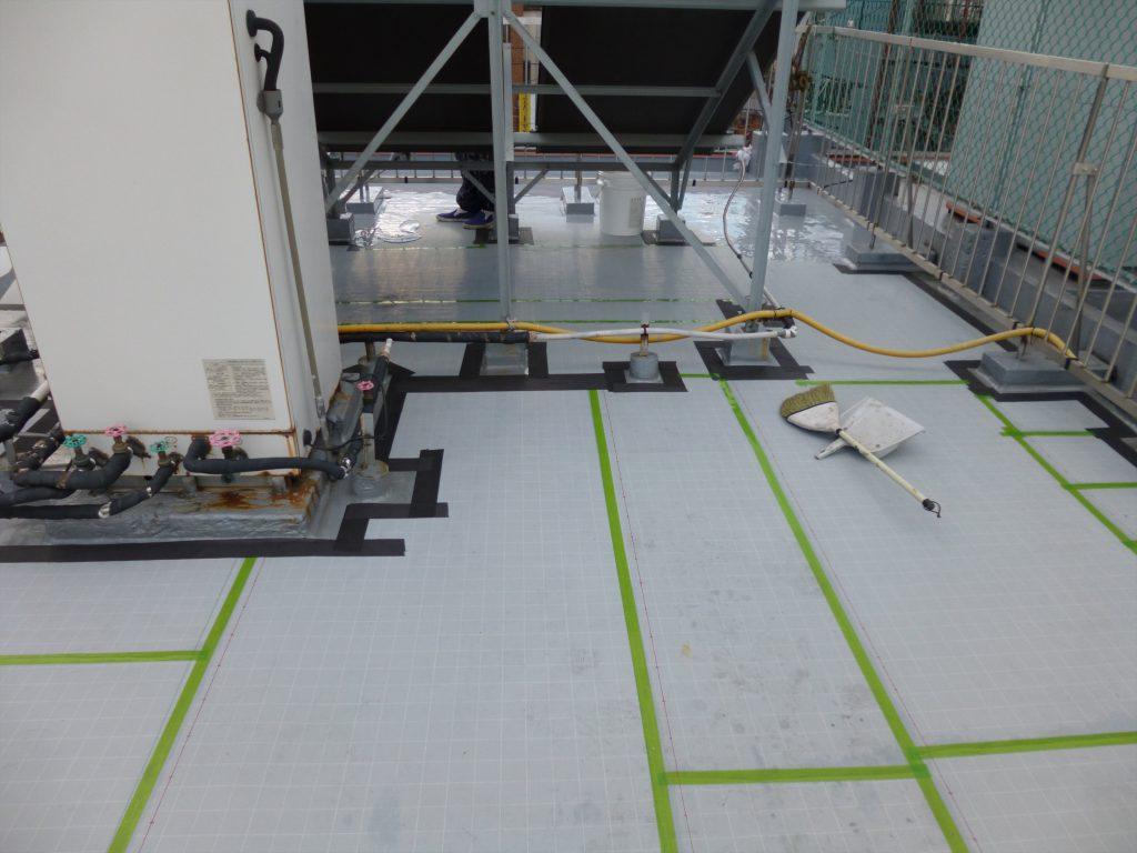 大田区Iアパート 屋上防水工事のサムネイル画像3