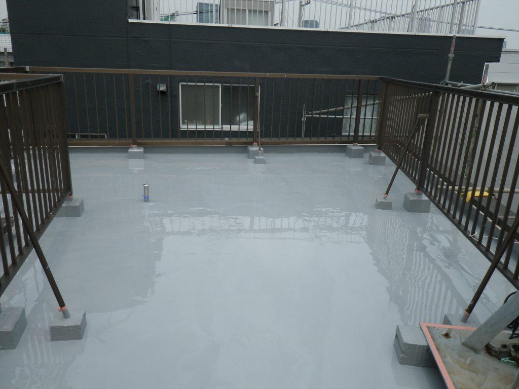目黒区T様持ち物件 屋根防水・外壁塗装工事のサムネイル画像8