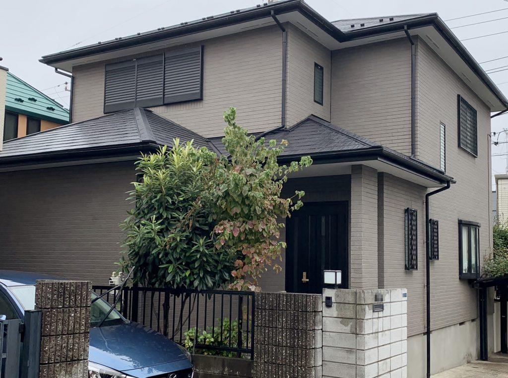 大田区H様邸 屋根・外壁塗装工事