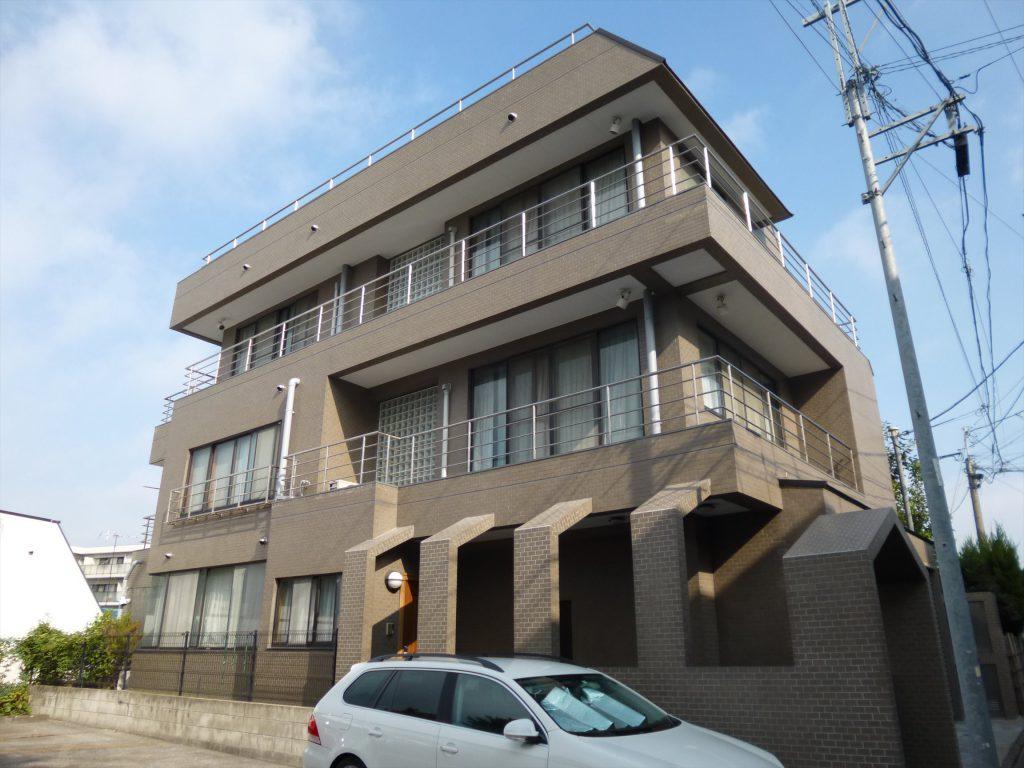 大田区K様邸 屋根・外壁塗装工事