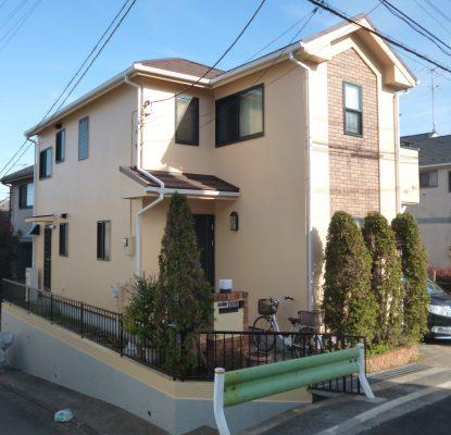 大田区O様邸 外壁・屋根葺き替え工事のサムネイル