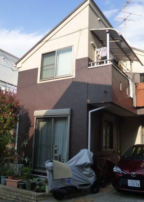 大田区F様邸 外壁・屋根葺き替え工事のサムネイル