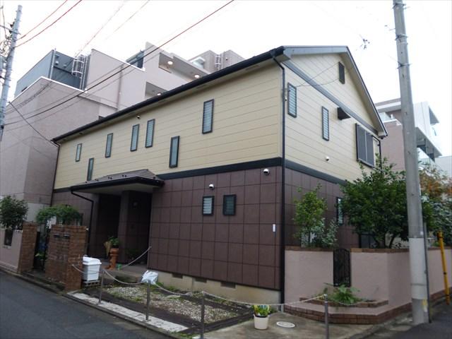 大田区H様邸外壁・屋根塗装工事
