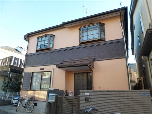 大田区Y様邸外壁塗装・屋根カバー工事