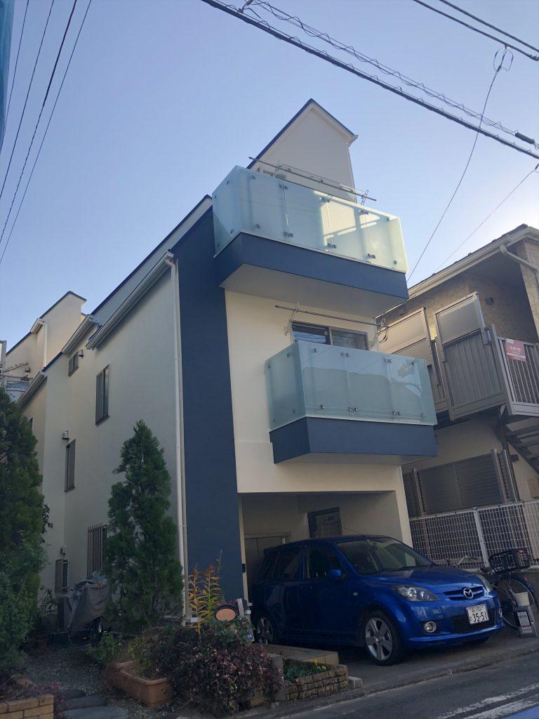大田区K様邸外壁・屋根塗装工事