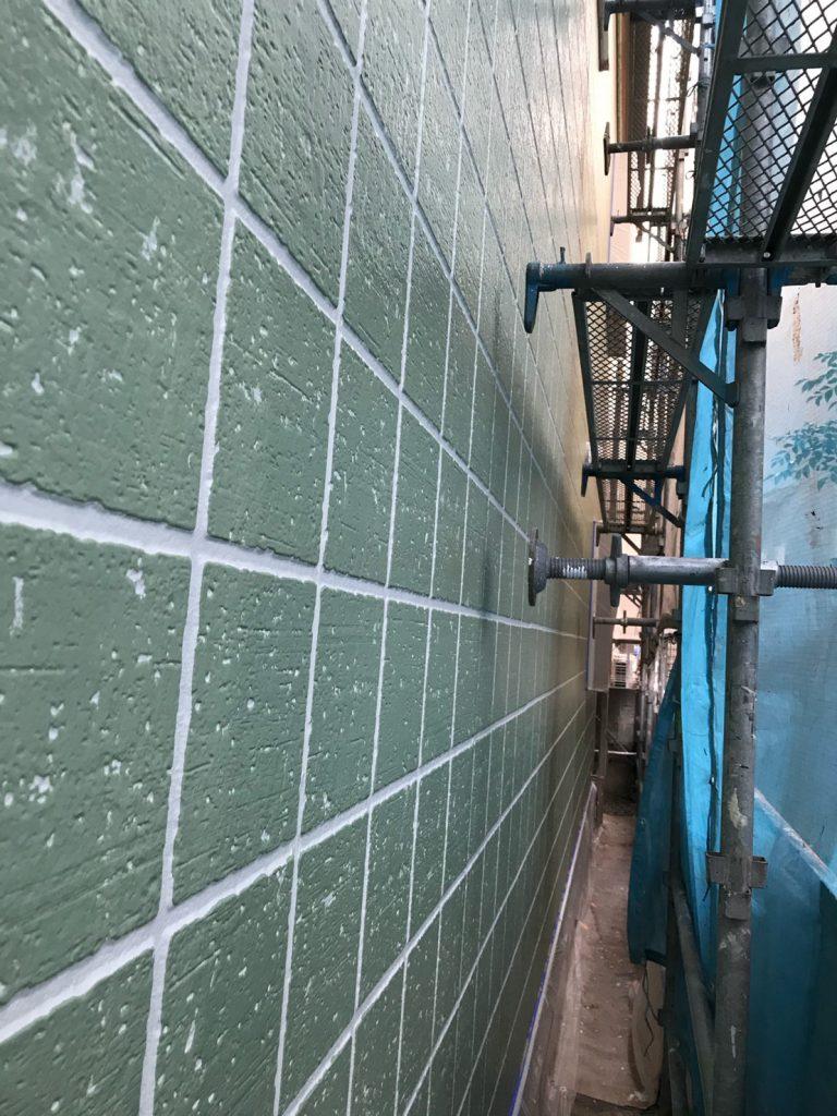 大田区マンション外壁・屋根塗装工事のサムネイル画像2