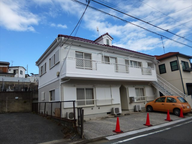 大田区K様邸外壁塗装工事