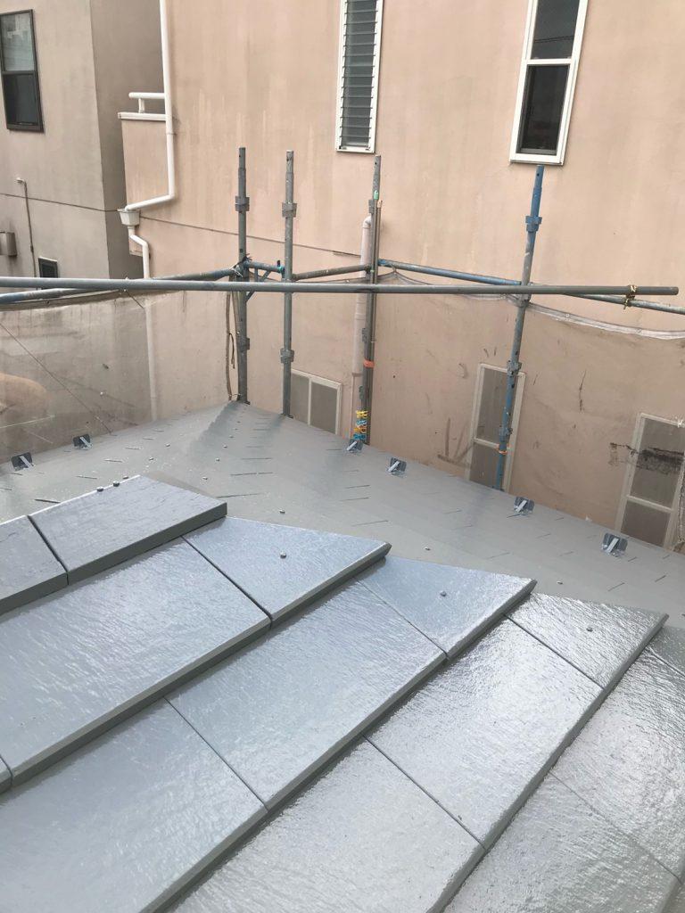 大田区マンション外壁・屋根塗装工事のサムネイル画像4